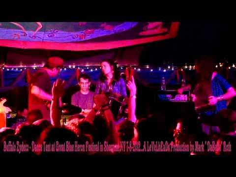 Buffalo Zydeco - Dance Tent - Great Blue Heron Festival - Sherman, NY 7-7-2012