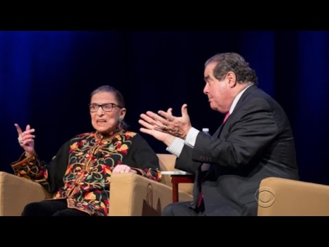 Antonin Scalia and Ruth Bader Ginsburg's lasting friendship