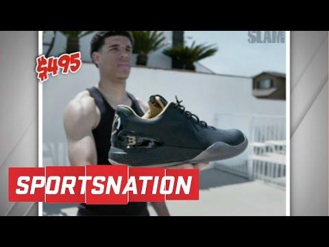 Lonzo Ball's Sneaker Causes Sticker Shock | SportsNation | ESPN