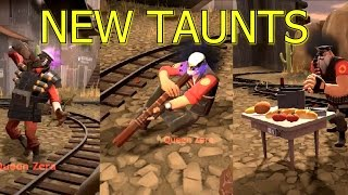 TF2: Smissmas Taunts Scotsmann's Stagger, Table Tantrum, Didgeridrongo >Team Fortress 2<2016 Update