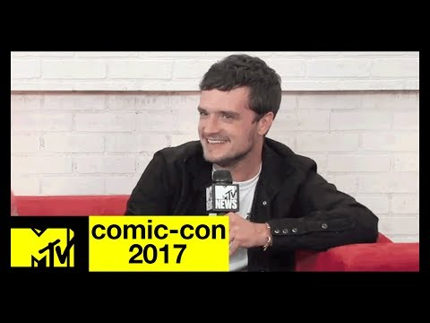 Josh Hutcherson, Eliza Coupe & Derek Wilson on the New Series 'Future Man'  ComicCon 2017  MTV