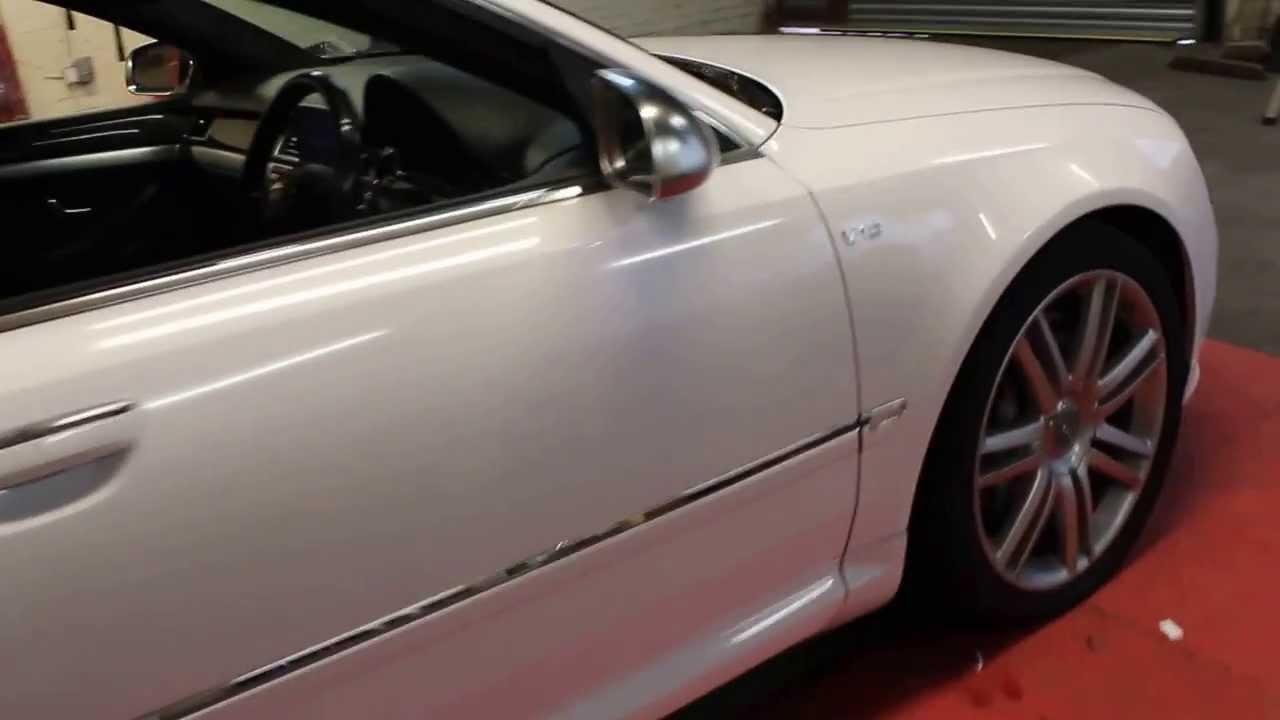 Audi s8 gloss white wrap g starwraps