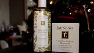 Eminence of Hungary Organic Skin Care! Mini haul Thumbnail