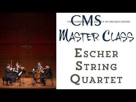 Master Class with the Escher String Quartet