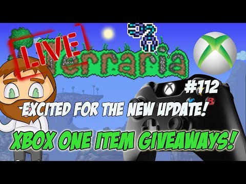 Terraria Xbox One Item Dropoff Giveaways - SO CLOSE! #112