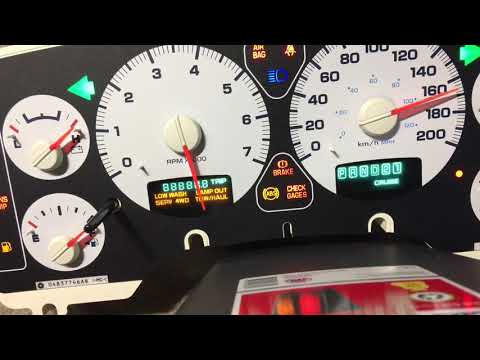 2004 Dodge Ram 1500 Cluster Repair - Broken Peg