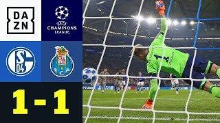 Elfer-Drama um Naldo nach Breel Embolos Treffer: Schalke - Porto 1:1 | UEFA CL | DAZN Highlights