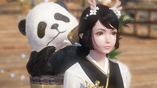 Moonlight Blade Level 90 Assassin New Outfit & Old Panda Backpack