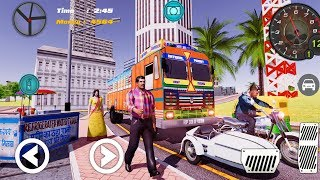 Indian Truck Lorry Driver - Real Cargo Transporter - Android Gameplay#2 HD