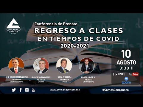 Regreso a clases en tiempos de COVID, 2020 - 2021