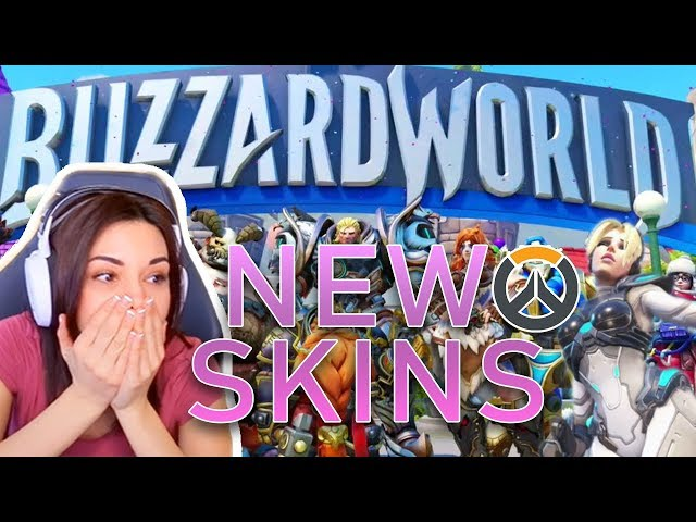 ALINITY IS INTO GIRLS? - Reacting to new Overwatch Skins!