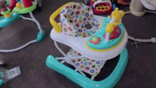 видео Детские ходунки CARRELLO CRL-9602 PURPLE 3 в 1