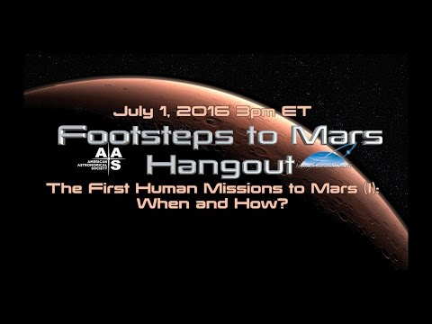 The First Human Missions to Mars (I): When and How?