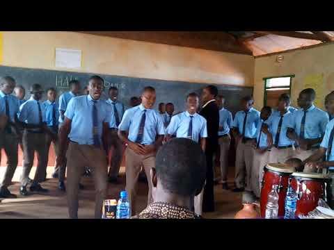 Vihiga boys presenting mwiliwangu