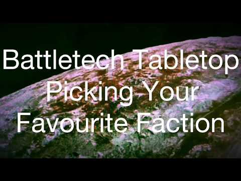 How to Pick your Battletech Faction Based On Your Personality (obsolete version) |