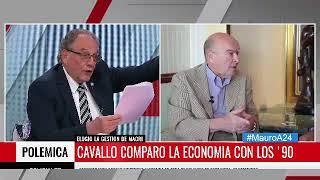 09-10-2017 - Carlos Heller en A24 - Más que noticias, con Mauro Viale