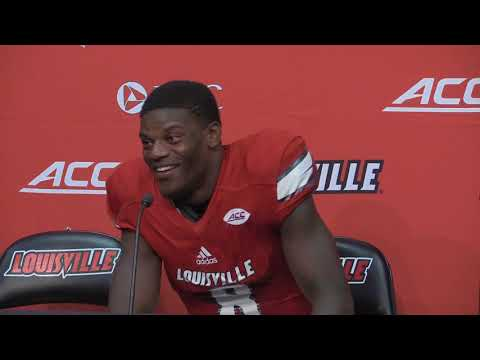Lamar Jackson Kent State Post-Game 9-23-2017