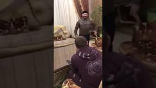 Михаил Галустян и Рамзан Кадыров репетиция номера для КВН