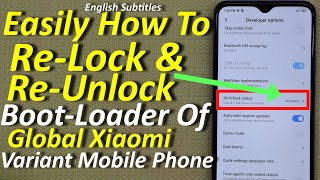 Relock BOOTLOADER Kisi Bhi Xiaomi Phone me ft.Redmi Note 7/7Pro/... | Lock Bootloader Of Xiaomi SPON.
