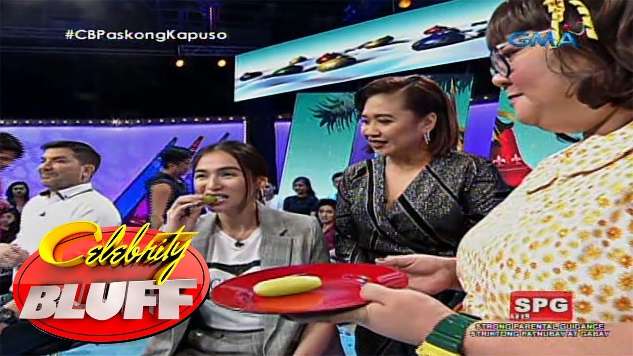 Celebrity Bluff: Jennylyn Mercado tries the Kamias challenge