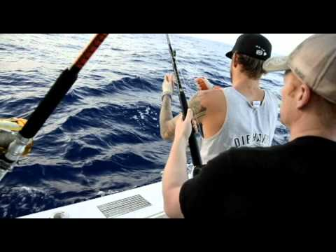 Maui Deep Sea Fishing With Die Hard And Captain Fuzzy