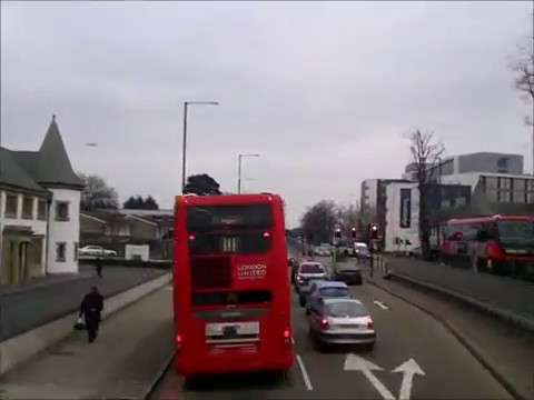 Route 222 Uxbridge Hounslow Bus Station Youtube