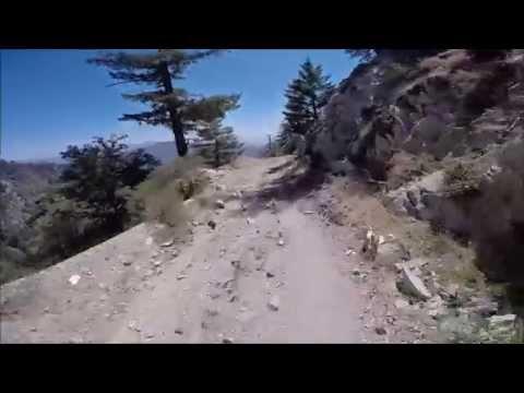 Mt. Wilson Toll Road Descent