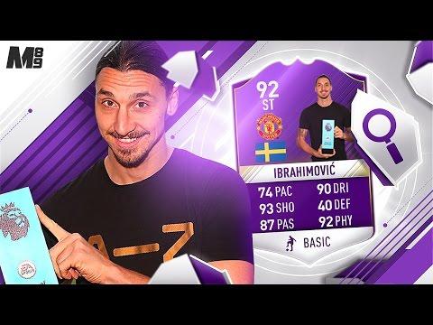 FIFA 17 POTM IBRAHIMOVIC REVIEW | 92 IBRAHIMOVIC | FIFA 17 ULTIMATE TEAM PLAYER REVIEW