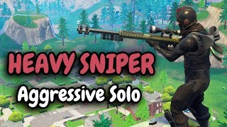 HEAVY SNIPER! is it the best sniper? | Aggressive Solo Gameplay