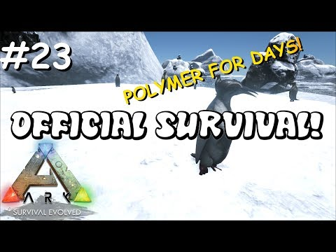 POLYMER FOR DAYS! | Small Tribe Survival - Official Server! Ep. 23 - Ark: Survival Evolved