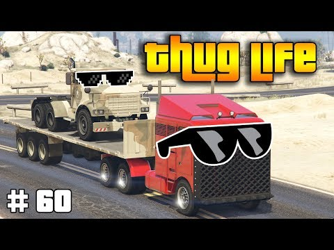 GTA 5 ONLINE : THUG LIFE AND FUNNY MOMENTS (WINS, STUNTS AND FAILS #60) thumbnail
