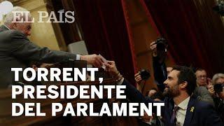 Roger Torrent, elegido presidente del Parlament de Cataluña | España