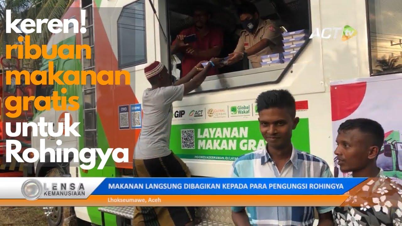 FOOD TRUCK ACT MULAI MASAK RIBUAN PORSI MAKANAN UNTUK ROHINGYA!