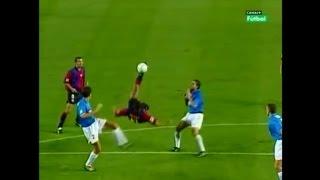 Rivaldo | Barcelona 3-2 Valencia | 2000-01 La Liga Round 38