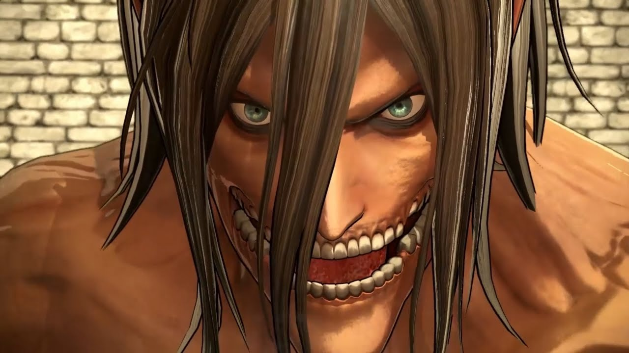 Attack On Titan Wings Of Freedom Eren Yeager Titan Form