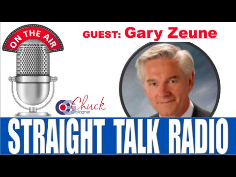 Straight Talk Radio - Gary Zeune interview with Chuck Gallagher Business Ethics Speaker and Author