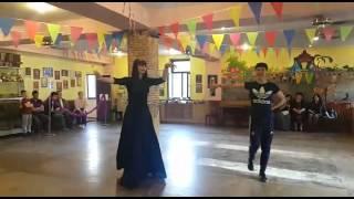 Обучение танцу Лезгинка в Алматы. Школа Лезгинки Ловзар. И такое бывает )