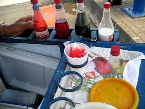 Making Copos in La Fortuna