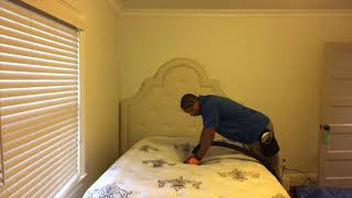 How to remove urine from a mattress