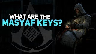 Assassin's Creed - What Are the Masyaf Keys?