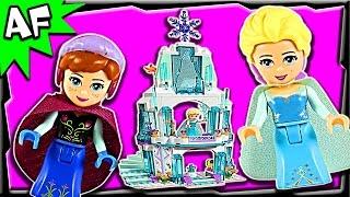 Lego Disney Frozen Elsa's Sparkling Ice Castle 41062 Stop Motion Set Review