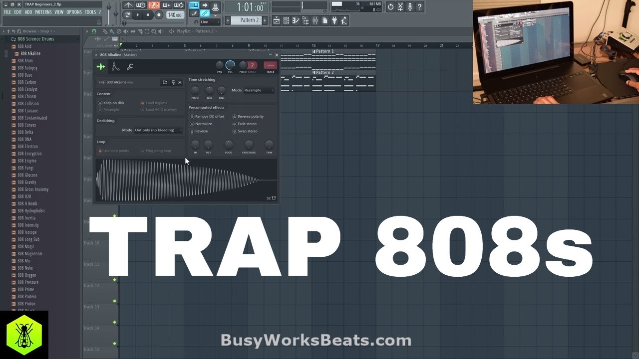 How to Trap Pt 3 808 Bass