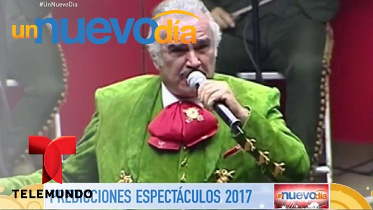 Muere Vicente Fernández A Mitad Del 2017 Un Nuevo Día Telemundo