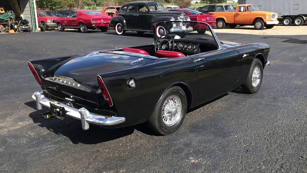 1963 Sunbeam Alpine Convertible For Sale