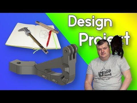 GoPro Camera Compatible Mount for Prusa i3 MK3 3D Printer