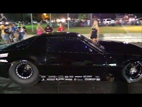 Kye Kelley shocker Camaro vs Brister's nitrous Chevy at the dirty south no prep gulfport