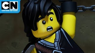 Escape the Lava! | Ninjago | Cartoon Network