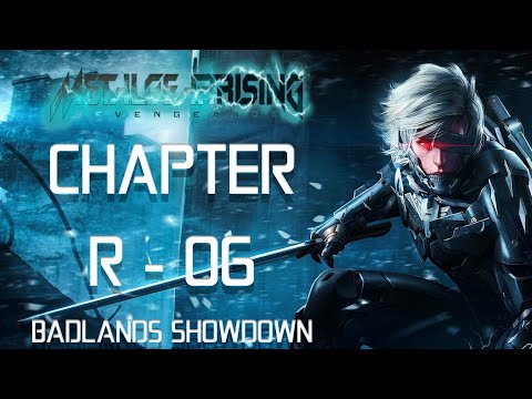 Metal Gear Rising : Revengeance | CHAPTER R - 06 |  Walkthrough Gameplay [NO COMMENTARY] PART 7 |