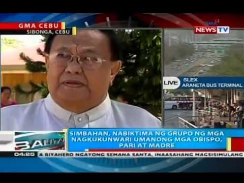 BP: Simbahan sa Cebu, nabiktima ng grupo ng mga nagkukunwari umanong mga obispo, pari at madre