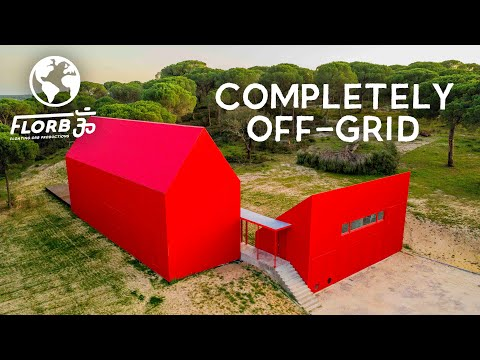 The Monopoly House is Completely Off Grid   Massive Solar System
